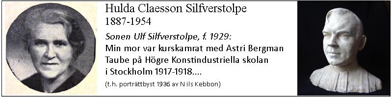 Hulda Claesson Silferstolpe